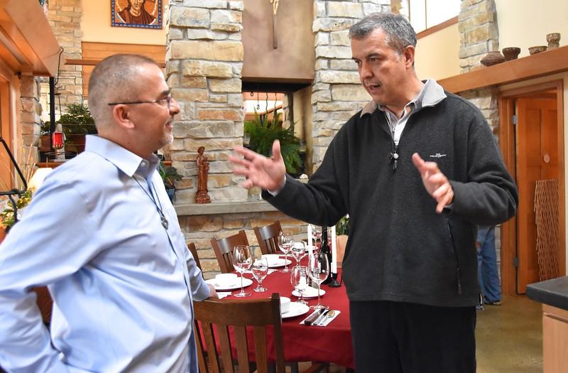 Fr. Andrzej and Fr. Carlos Luis