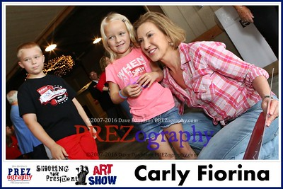 Carly Fiorina Best of Prezography Art Show