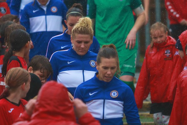 Lewes Women v Chelsea Women (Continental Cup) 02/11/19
