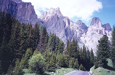 1997 Alps Motorcycle Tour