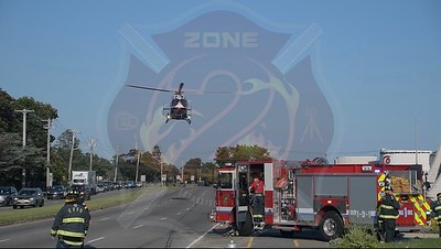 East Farmingdale Fire Co. MVA w/ Medevac    Route 109 and New Highway 8/5/20