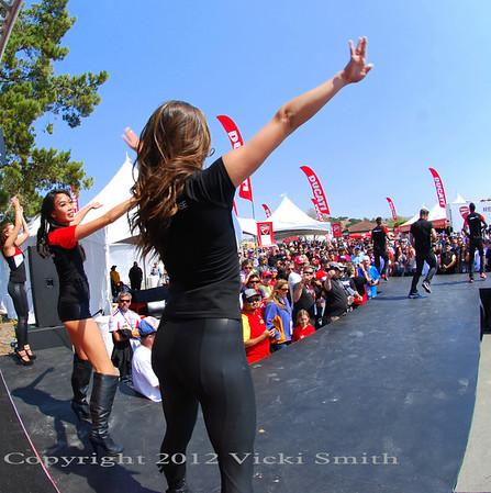 Laguna Seca MotoGP Ducati Island 2013