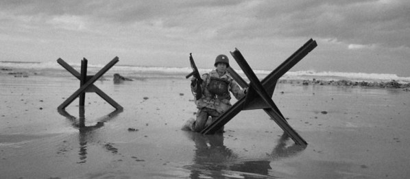 Invasion beach, Normandy