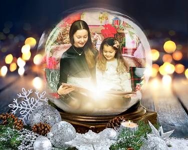 Lia and Francesca Christmas 2019