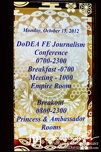 2012 10 15 FEJC Monday Morning Day One