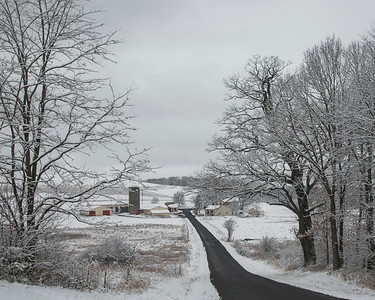 Snow - March 15. 2020