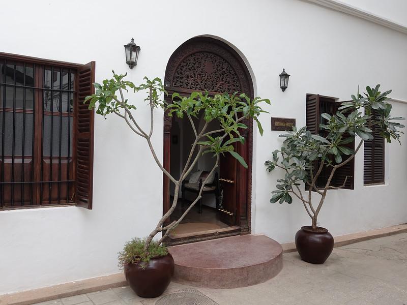 Indian style door