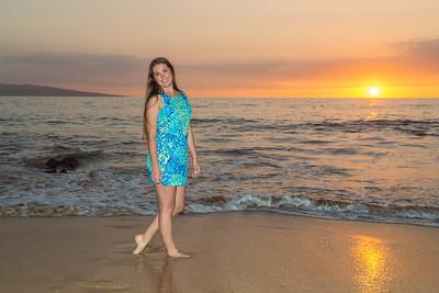Angel's Senior Pics Maui Feb 2016