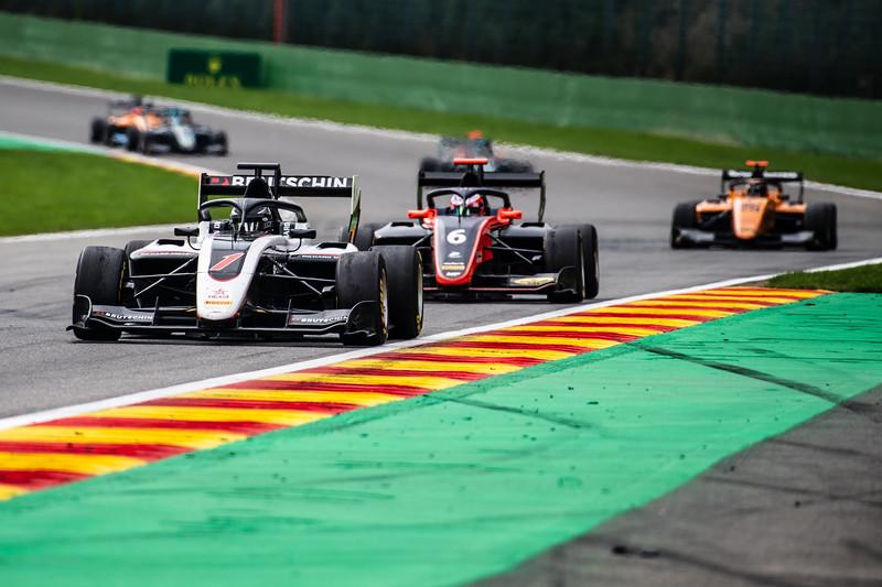 #1 David Beckmann, ART and #6 Richard Verschoor, MP Motorsport, Belgium, 2019