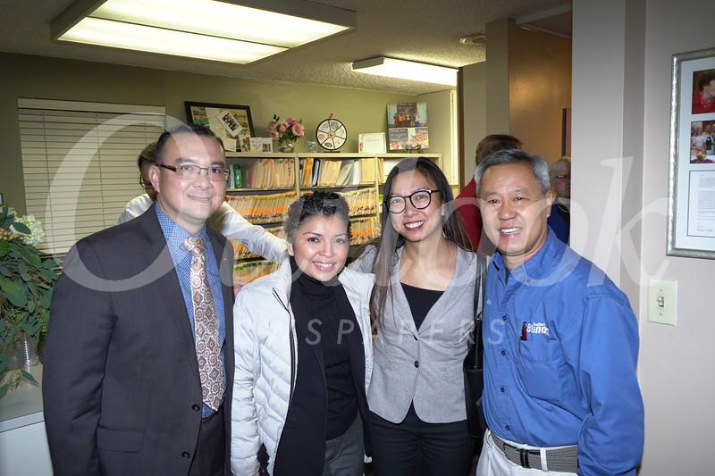 Nick Pon, Jeaneffer Suy, Fion Chan and John Sun