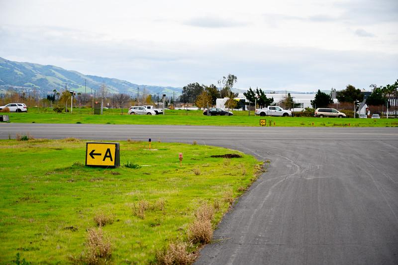 Runway Exit Sign