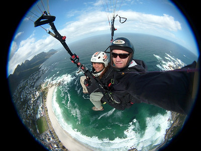 Paragliding at Lion's Head