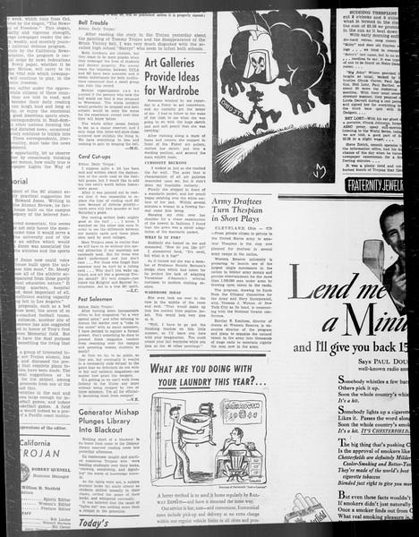 Daily Trojan, Vol. 33, No. 19, October 08, 1941