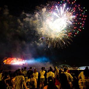 Nashville Fireworks 07/04/2010