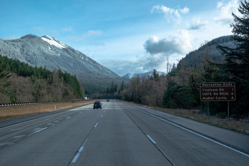 Snoqualamie Pass Washington