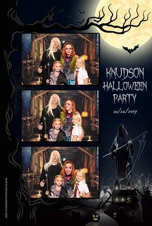 Knudson Halloween Party 2019