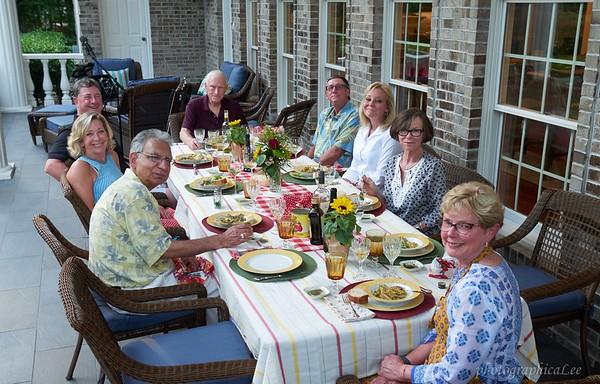 Wine group at Basseens