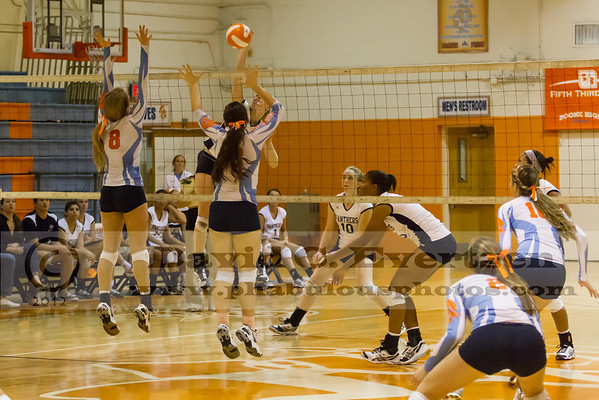 Dr. Phillips Panthers @ Boone Braves Girls Volleyball Playoffs - 2012