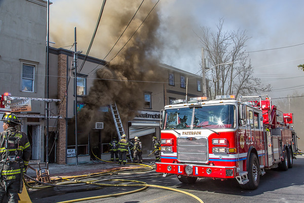 Paterson NJ 2nd alarm, 390 21st Ave. 09-01-19