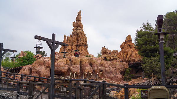Disneyland Resort, Disneyland, Frontierland, Big, Thunder, Mountain, Railroad