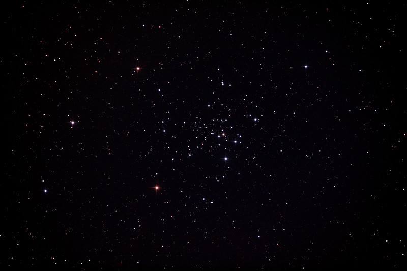 Caldwell 96 - NGC2516 - The Diamond Cluster - 28/1/2013 (Processed stack - GSO Coma Corrector test under Waning Gibbous Moon)