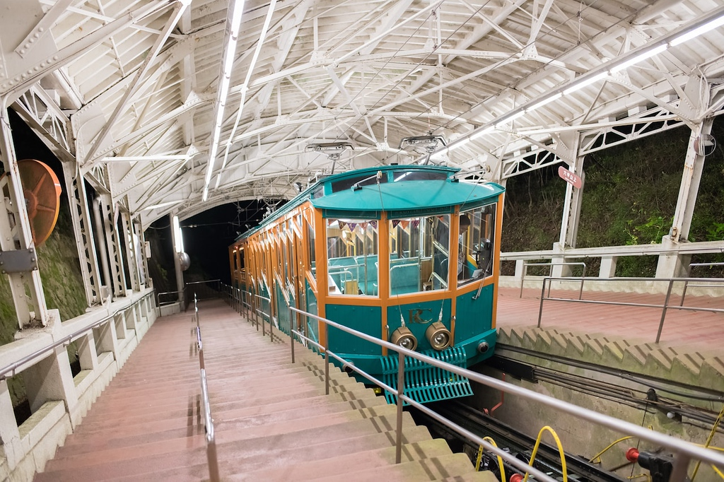 Mount Rokko cable car. Editorial credit: Michael Gordon / Shutterstock.com