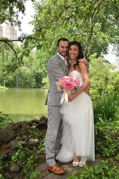 June 4, 2016 Sandrine and Yann Wedding in Central Park