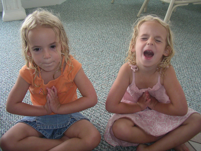"""What is a Buddha?  Vi and Julie """"I don't know"""""""