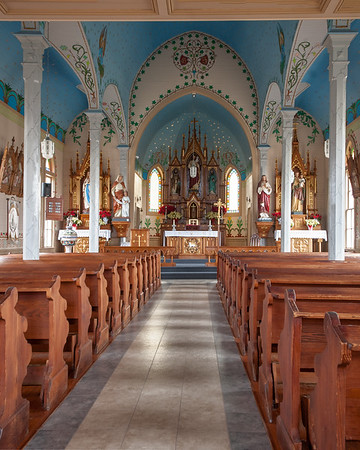HISTORIC PAINTED CHURCHES OF TEXAS