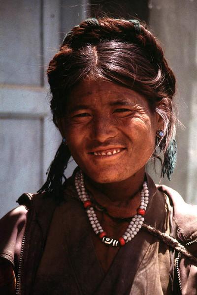 Gyantse, Tibet, China 1995