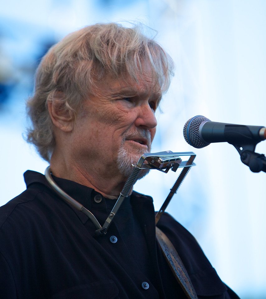 Kris Kristofferson in concert at the Nice Jazz Festival on 7/23/10