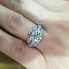 1.95ct Old European Cut Diamond Art Deco Ring, GIA L SI1 9