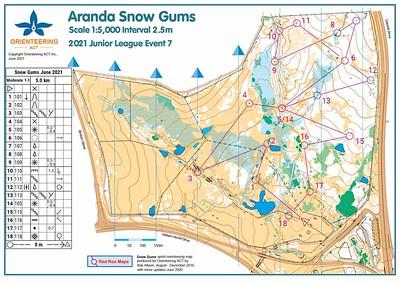 26 June 2021 Aranda Snowgums