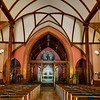 Interior of Episcopal church, Cooperstown, NY