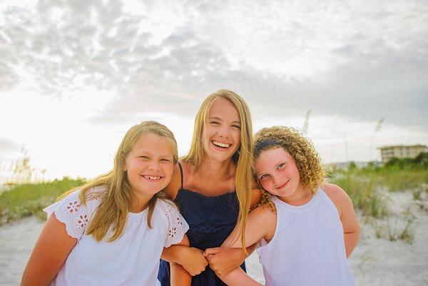 Madeira Beach Florida Sunset Family Photos