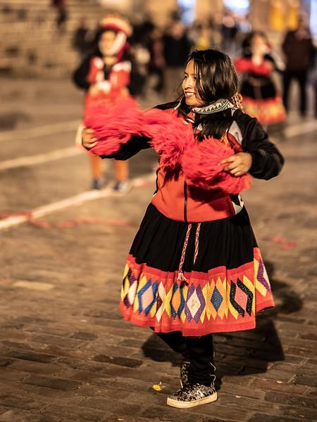 smiling dancer Plaza Mayor Cusco.jpg