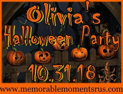 Olivia's Halloween Party