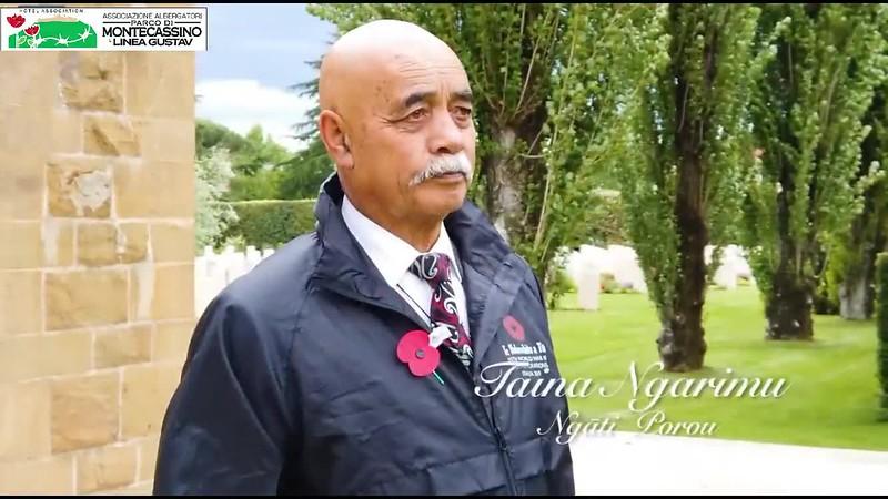 Visita al Cimitero del Commonwealth. Il rito dei Maori.