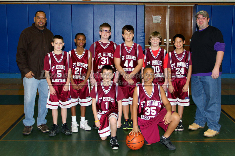 St. Isidore's Vs St. Patrick's Boys Youth Basketball  1-20-12