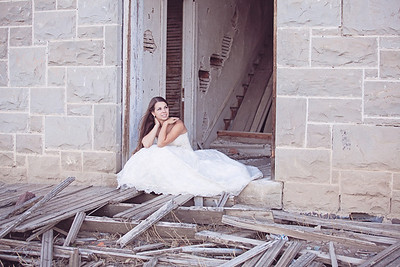 Kelsey Trash the Dress
