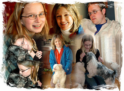 2007: Family collages