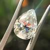 2.01ct Antique Pear Shape Diamond GIA G VS1 5