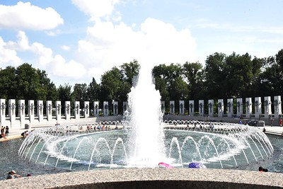 DC, Washington - National World War II Memorial, 2018
