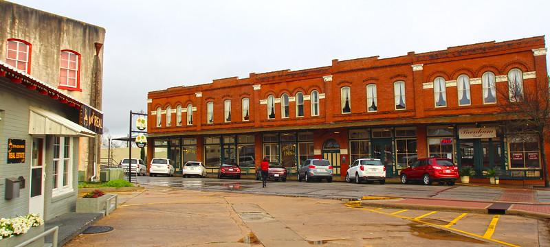 Brenham Texas. Historic Downtown