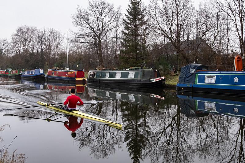 Bridgewater Canal at Brooklands, Sale