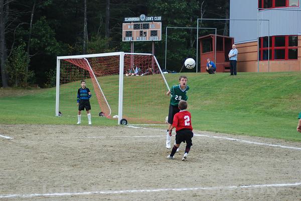 2009-09-23 Boys Soccer - Memorial vs Scarborough