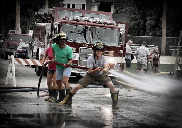 2012 FireFest, Triathalon, Volksfest