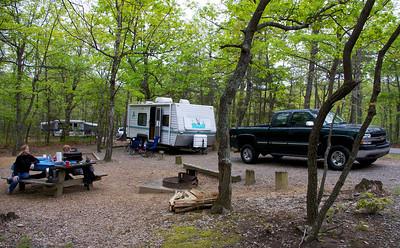 2013-5-3 Hanging Rock camping
