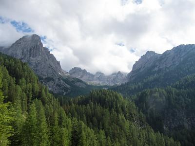 Climbing Lienzer Dolomites 2015