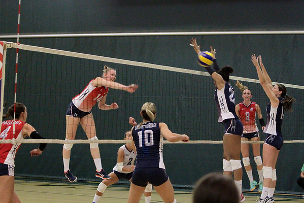 Woman Olympic Volleyball Game